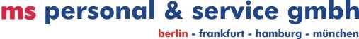 ms personal & service gmbh Logo